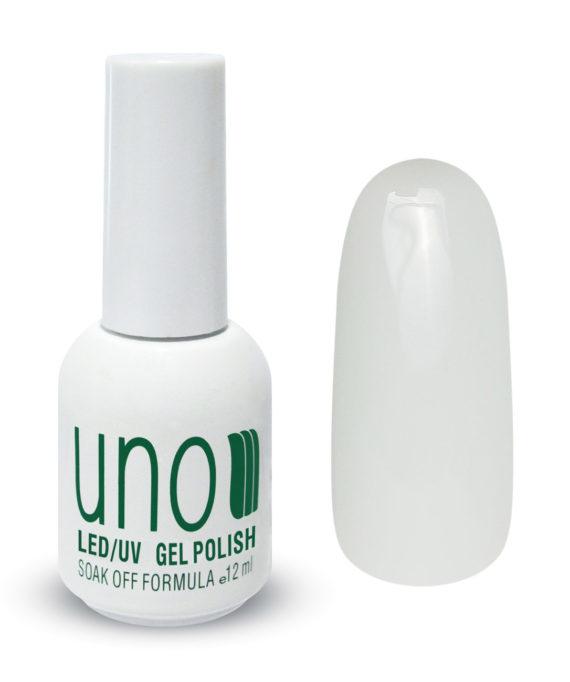 """Гель-лак """"Uno"""" - 001 Белый - White, 12мл."""
