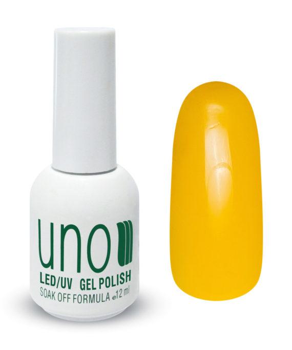 """Гель-лак """"Uno"""" - 014 Желтый - Yellow, 12мл."""